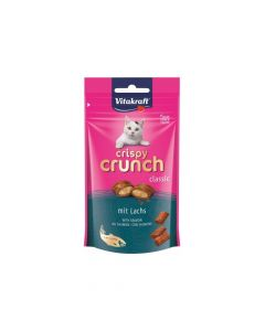 Vitakraft poslastica za mačke Crispy Crunch losos 60 g