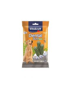 Vitakraft poslastica za pse Dental fresh 3u1 M, 180 g