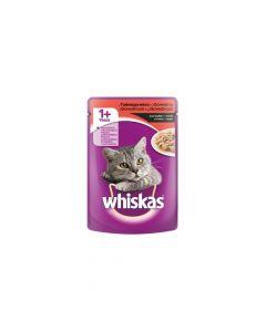 Whiskas govedina u umaku, vrećica 100 g