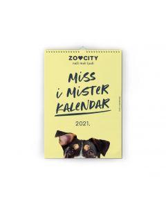 ZOOCITY MISS & MISTER KALENDAR 2021.